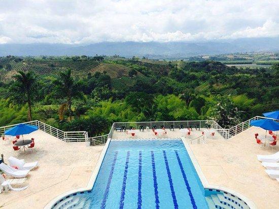 HOTEL MIRADOR LAS PALMAS: Vista desde el restaurante