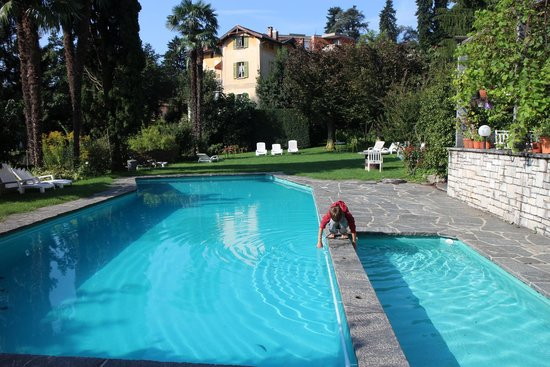 Hotel Villa Selva: Clean and still warm to swim in September