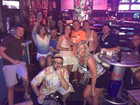 Durty Harry's: Duval Pub Crawl Crew Sept 2 2014!