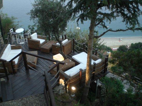 Hotel Claudio: cenare con una vista cosi!!!!!!