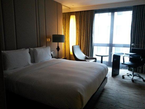 Hilton Berlin: chambre