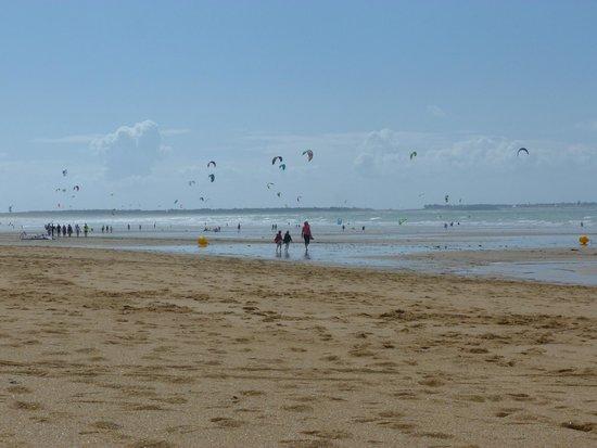 Keravel Vacances : plage accessible directe depuis le centre