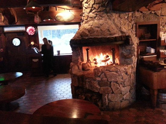 Fireplace -to warm the soul & smores-if you're so inclined ...