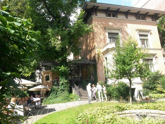 Wintergarten im Literaturhaus: pdj