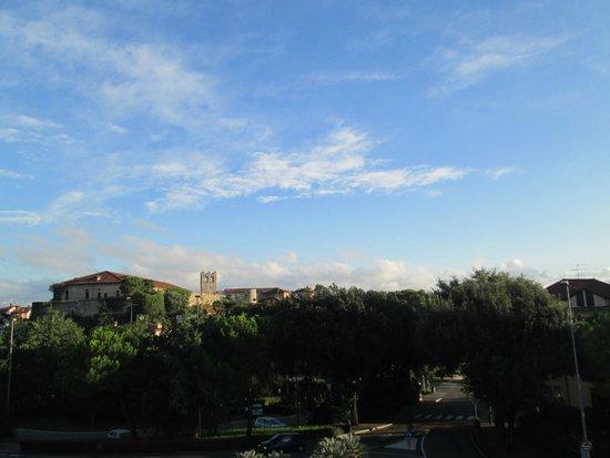 Hotel Giardinetto: Desde la habitación se veía el castillo