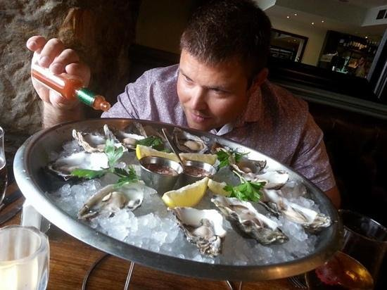 The Butchershop Bar and Grill : delicious oysters