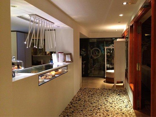 Hotel Tahiti: Bar area