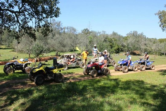 Paderne, Portugal: Quads & Buggies