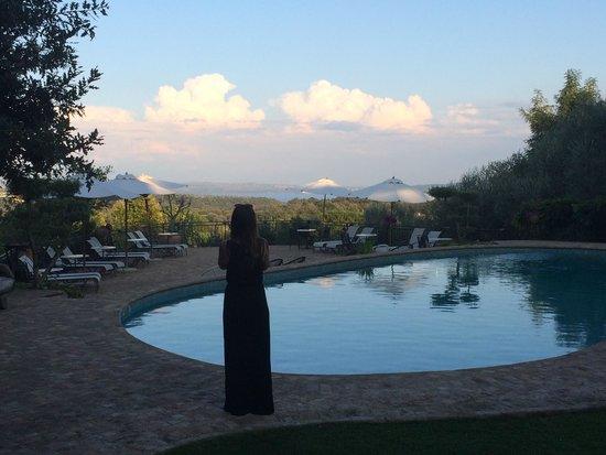 Villa Clodia: Pool with amazing view...