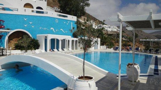 Aegialis Hotel & Spa: the pool