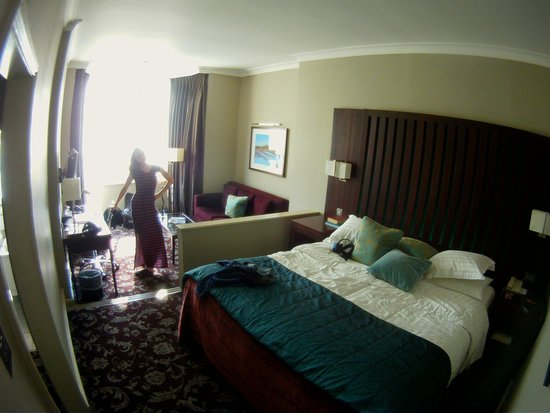 Grand Jersey Hotel & Spa : Executive Double Sea View Room