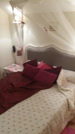 Hôtel Les Cygnes  : La camera matrimoniale
