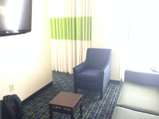 """Royal St Charles Hotel: """"living room"""" in our suite"""