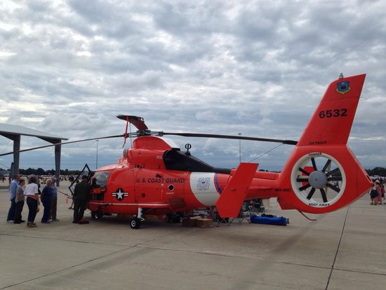 Harrison Township, MI: Coast Guard.