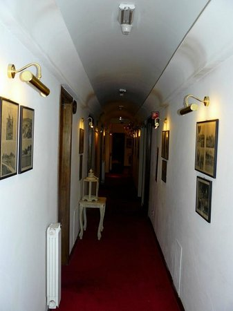 Hotel Cellai : couloir