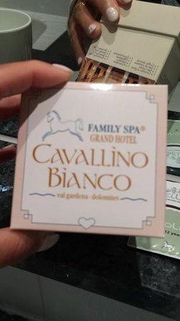 Cavallino Bianco Family Spa Grand Hotel: stupendo