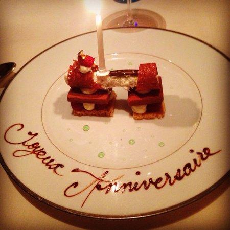 Il Lago at The Four Seasons Hotel: Troisième visite et toujours aussi parfait. De loin l'une des meilleurs tables a Genève!  Mer