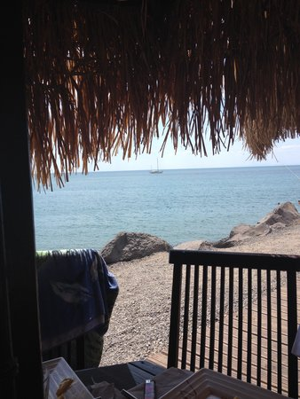 Camping Californie Plage: A glimpse of the Med.