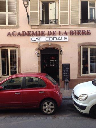 Academie de la Biere : Entry