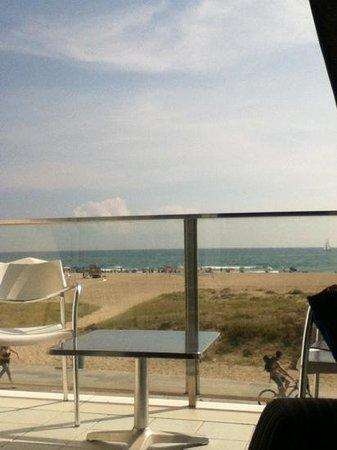 Bel Air Hotel : vue depuis une chambre