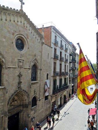 Hostal Fernando: View from the balcony