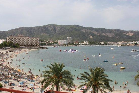 Hotel Seramar Comodoro Playa: Palmanova Bugten