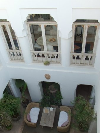 Riad Safa: View from room balcony
