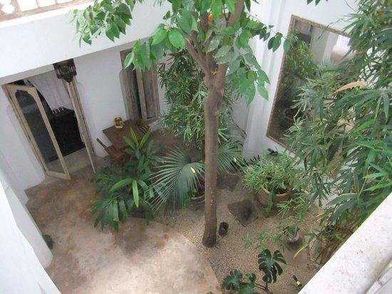 Riad Safa: View from room balcony