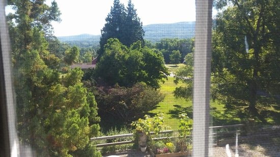 Mountainville, NY: View from the lavender room