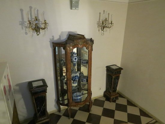 Hotel Garden Palace: la scalinata