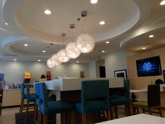 Hampton Inn Petersburg - Ft. Lee: breakfast room