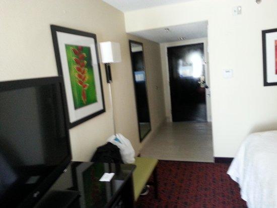 Hampton Inn Petersburg - Ft. Lee: two double bed room