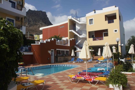 Astra Village Apartments : Bottom pool area
