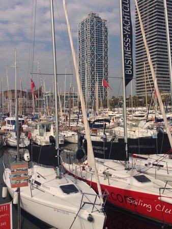 Business Yachtclub Barcelona: J80's fast and fun keelboats