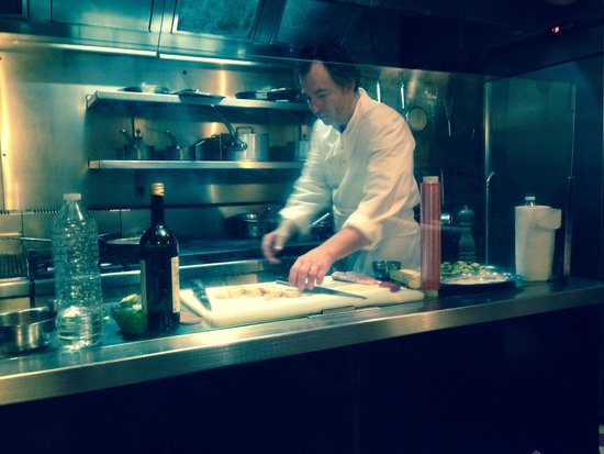 RESTAURANT DE LA CORDONNERIE : Chef at work