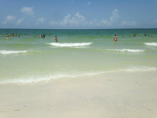 Clearwater Beach: fantastisk vann
