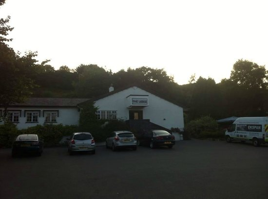 The Lodge Conwy : Frente do hotel