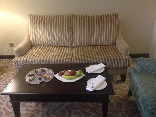 Marjan Island Resort & Spa: Welcome sweets