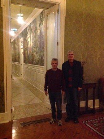 "The beautiful ""Belle 'Epoque"" corridors of Vidago Palace Hotel"