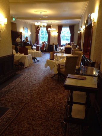 The Borrowdale Hotel: Dining room