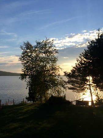 Bald Mountain Camps Resort: Sunset