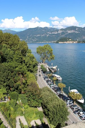 Grand Hotel Tremezzo: View of Bellagio from our Rooftop Balcony