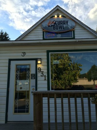 The Curry Bowl: Curry Bowl front door