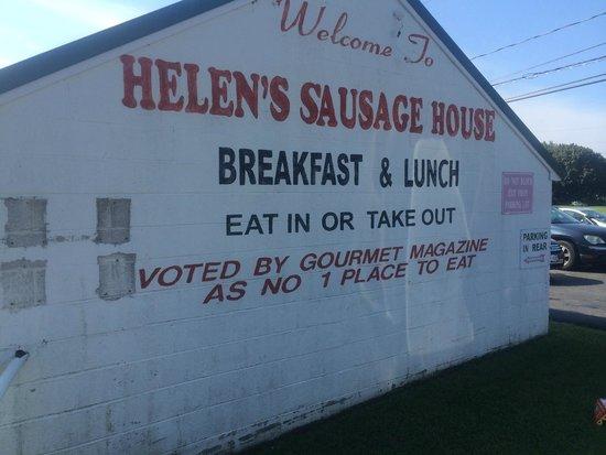 Helen's Sausage House: Gourmet Magazine!