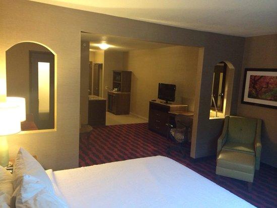 Hilton Garden Inn Preston Casino Area: Very spacious