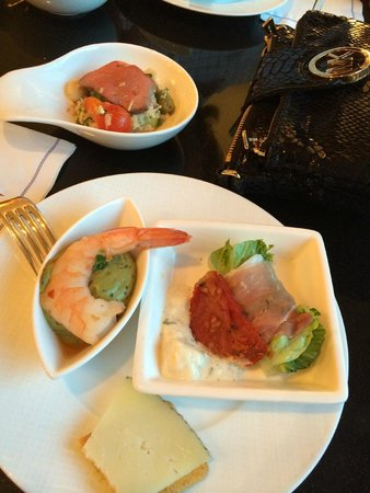 The Ritz-Carlton New York, Central Park: Second round of food offerings in the Club Level