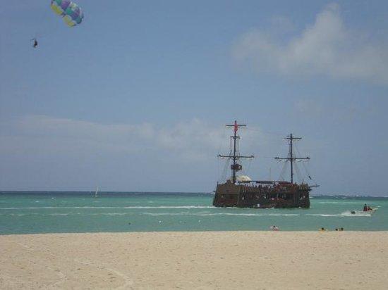 Ocean Adventures Bavaro Splash : piratas do caribe