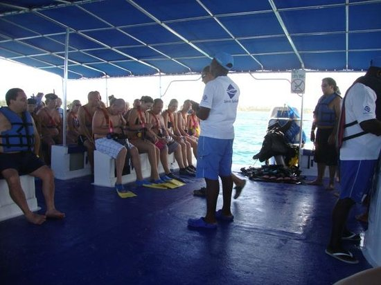Ocean Adventures Bavaro Splash : instruções antes das atividades