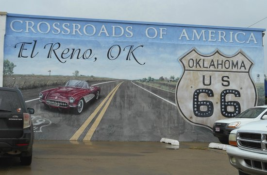 El Reno (OK) United States  city images : Route 66: El Reno OK has one of the coolest murals. Find them in each ...