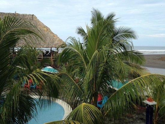 SABAS Beach Resort: View from room